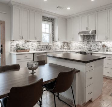 renovated white kitchen