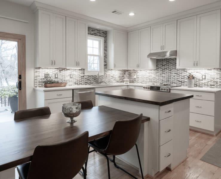 renovated white kitchen
