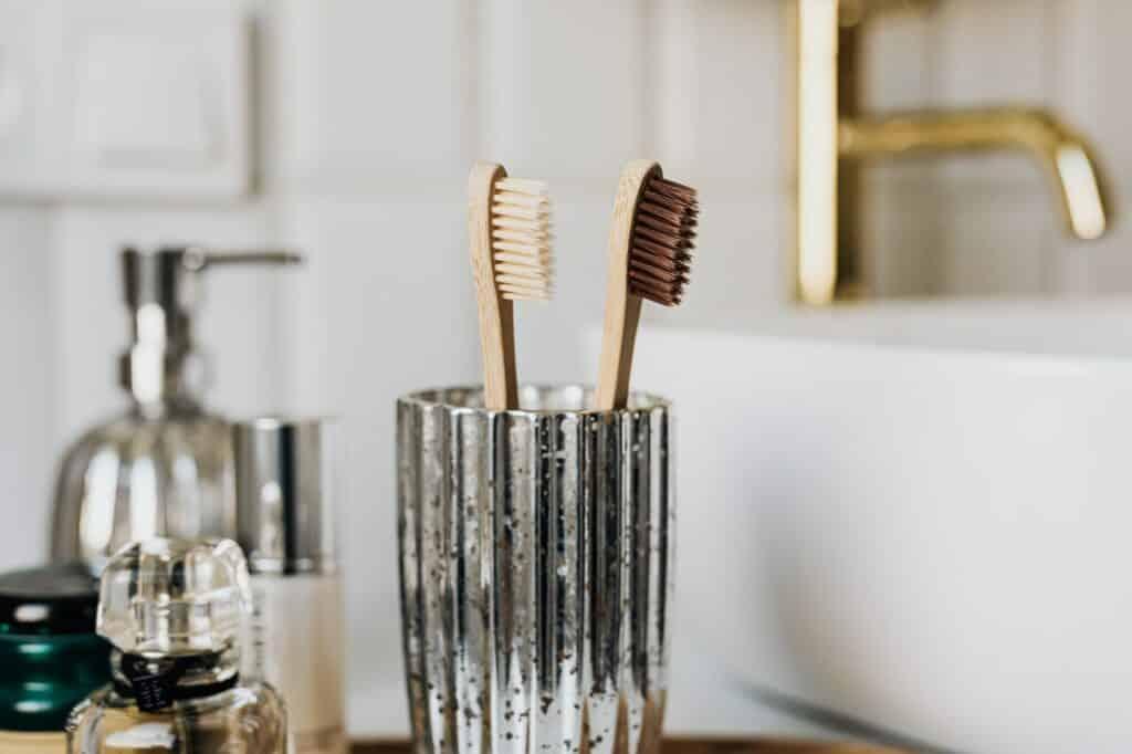 decorative toothbrush holder