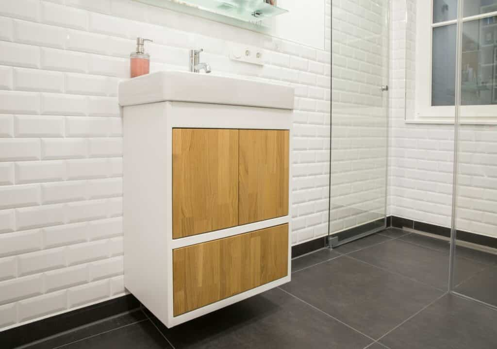 how to build a bathroom vanity drawer