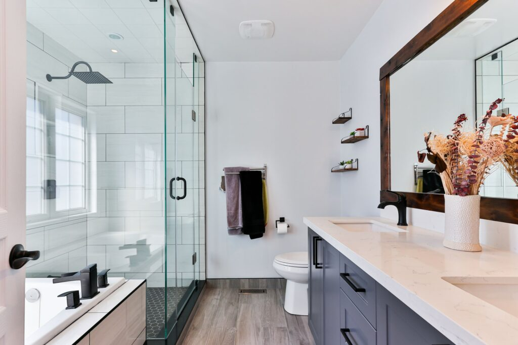 bathroom in a home