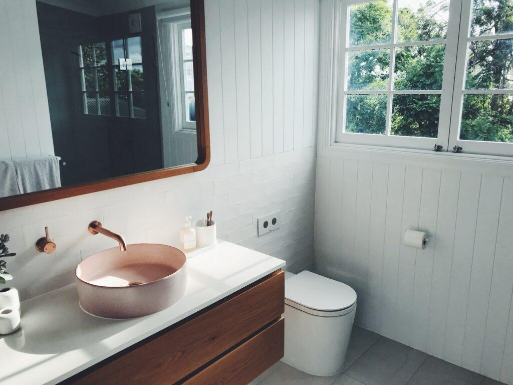Replacing bathroom elements