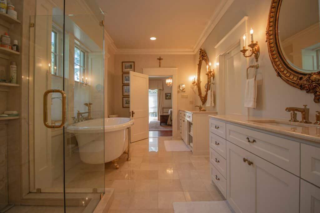 preparation procedure for bathroom remodeling