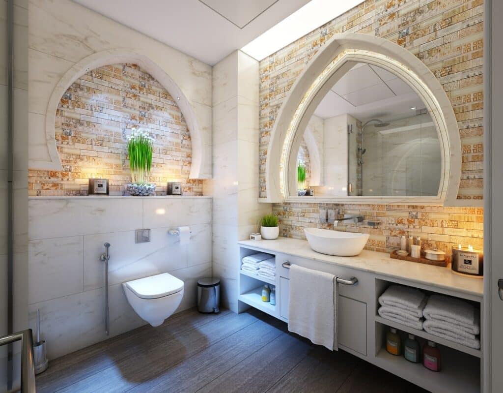 remodel ideas for a farmhouse bathroom