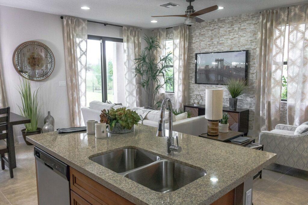 Granite countertop care
