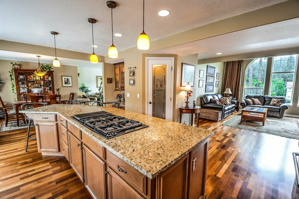 Maintaining a granite countertop