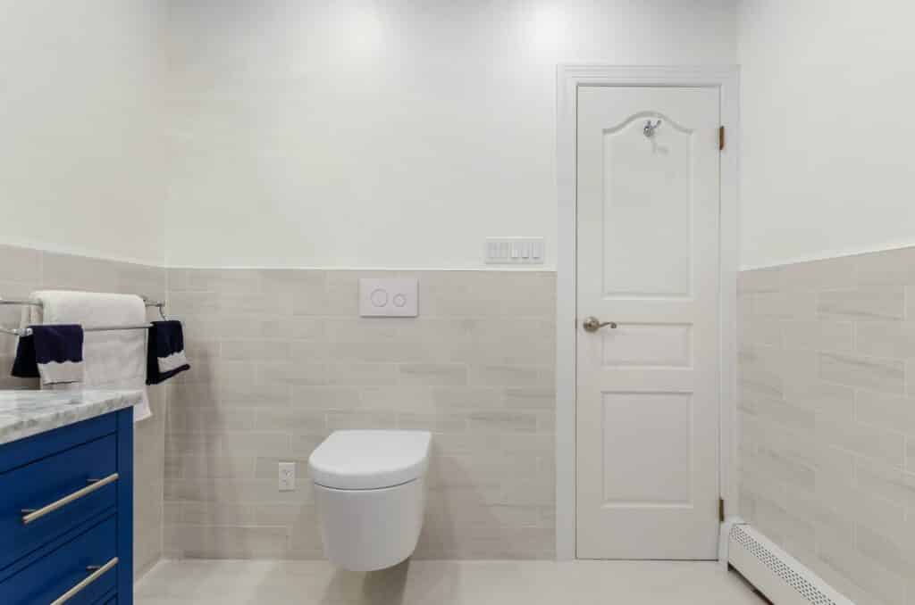 How much a bathroom flooring costs
