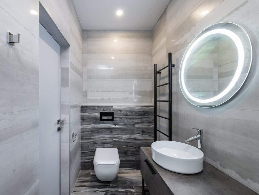 Bathroom remodel process