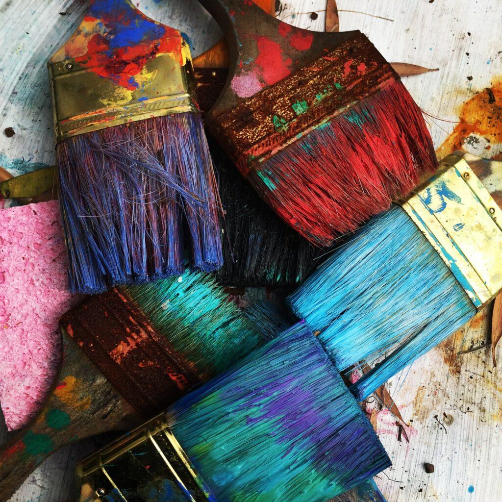 cabinet paint brush