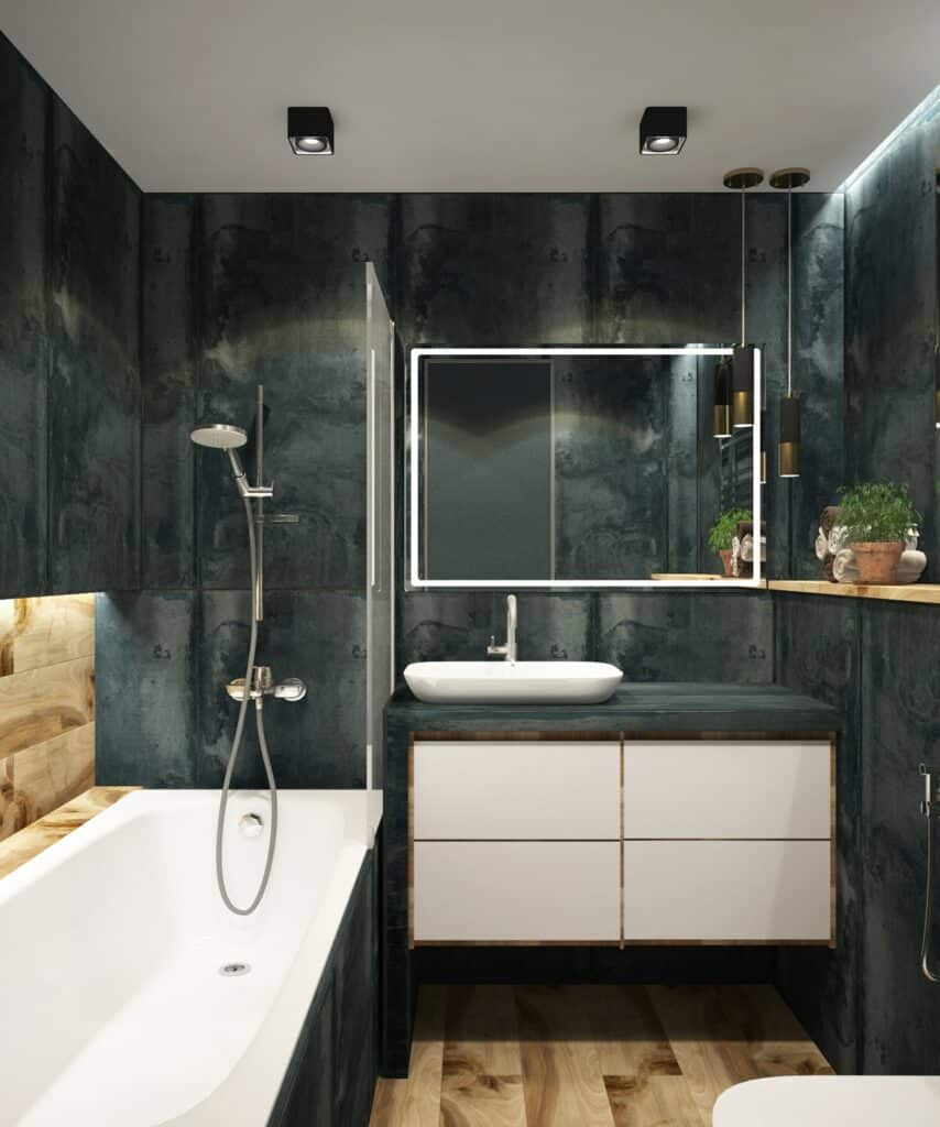 color bathroom lifestyle