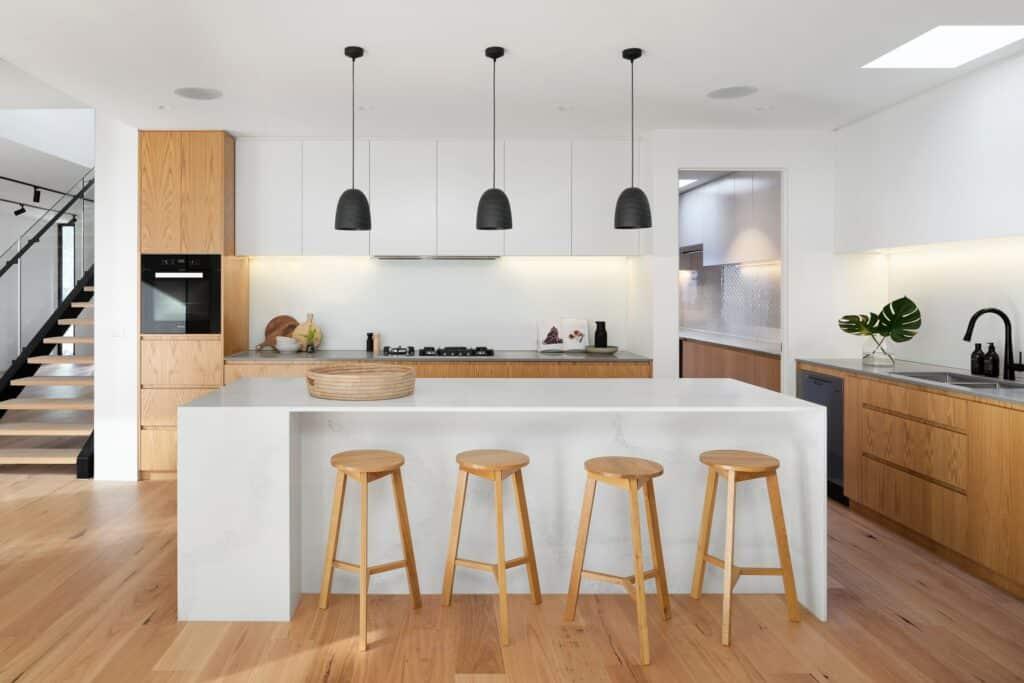hardwood kitchen flooring