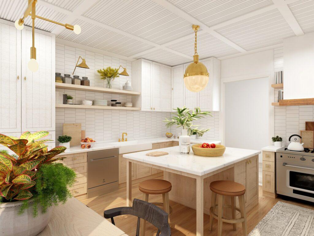 kitchen island storage