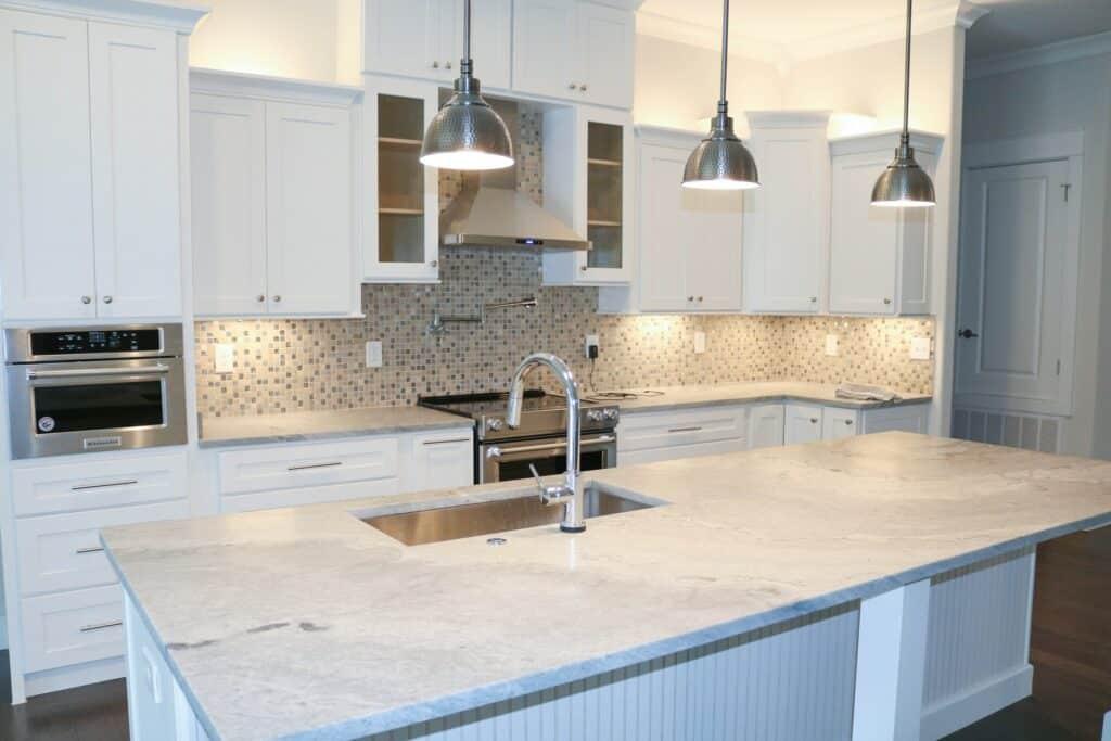 quartz kitchen countertop remodel