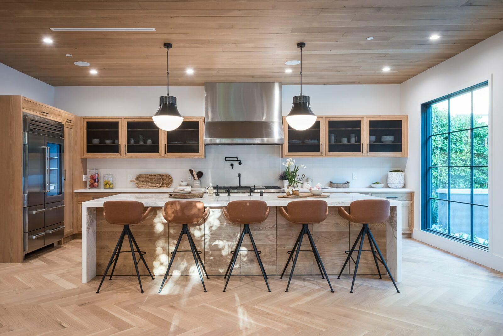 types kitchen lighting