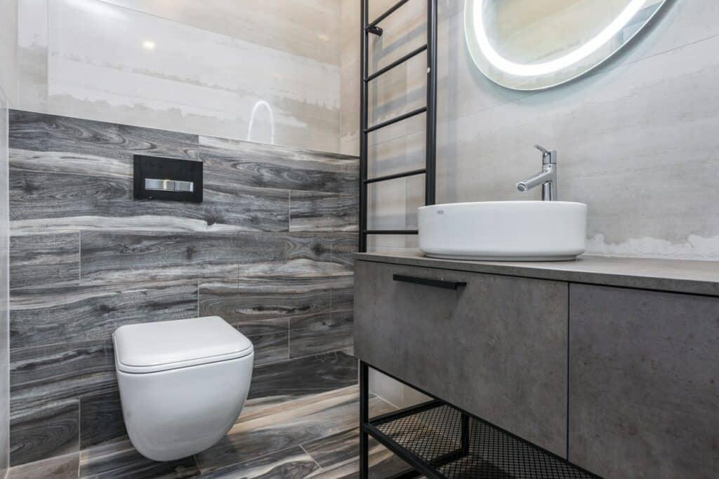 bathroom flush options