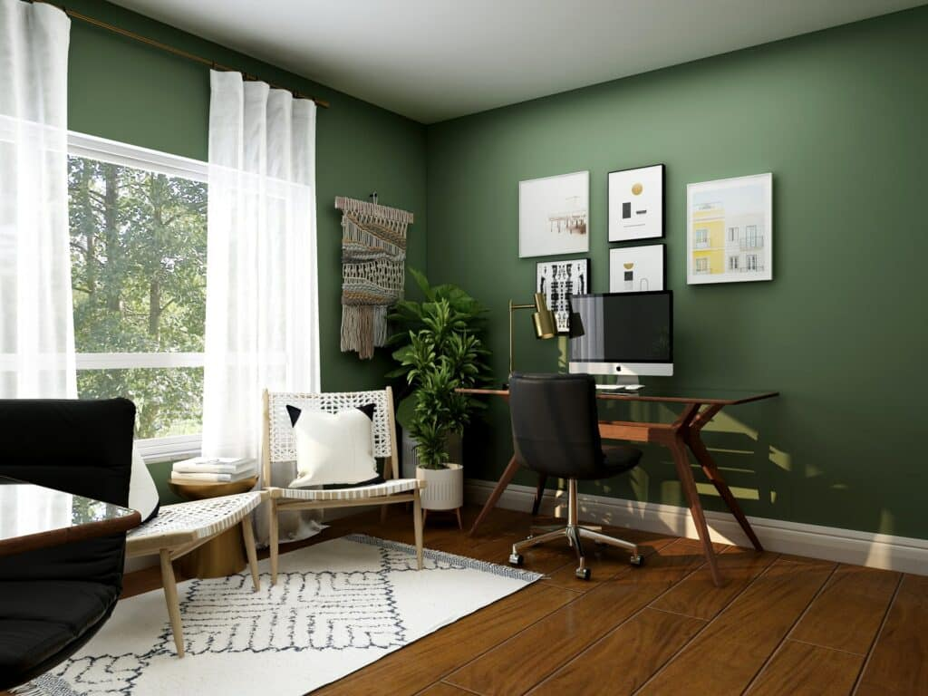 color home office remodeling ideas