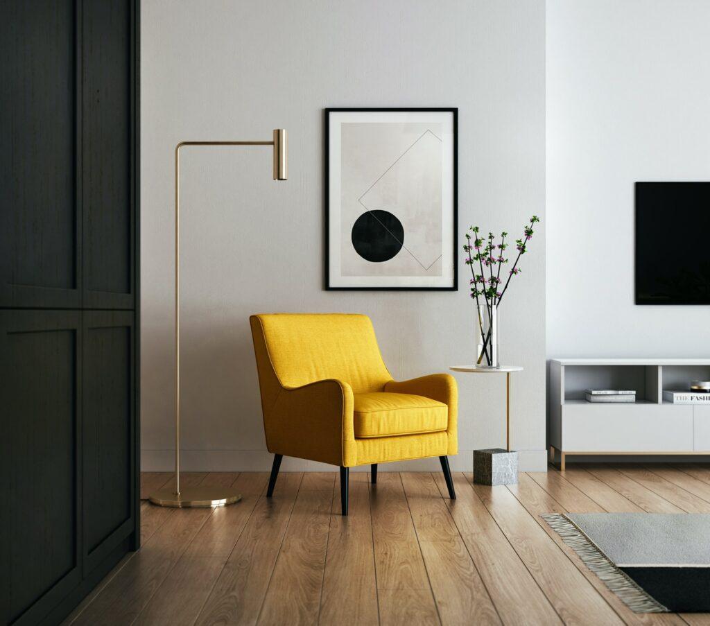 corner arrange furniture small living room