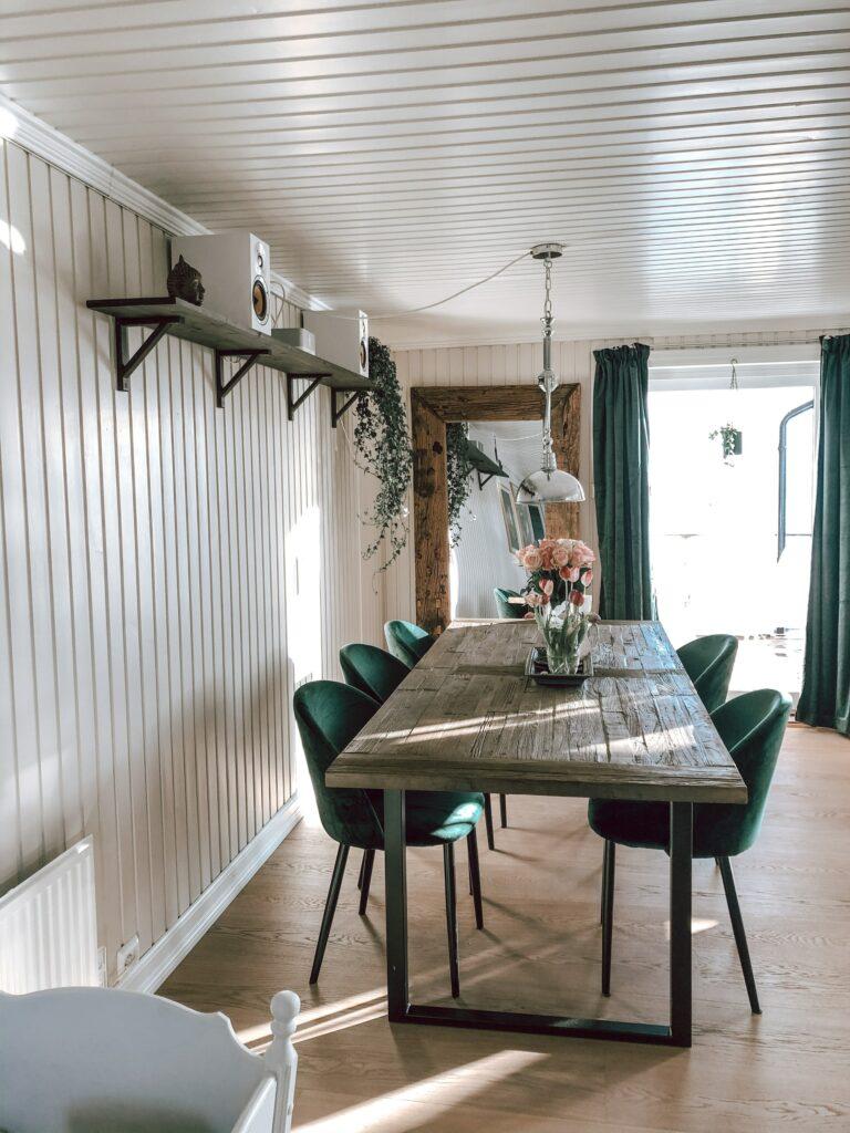 design pattern dining room