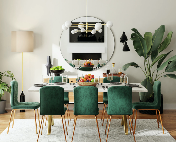 dining room design trends