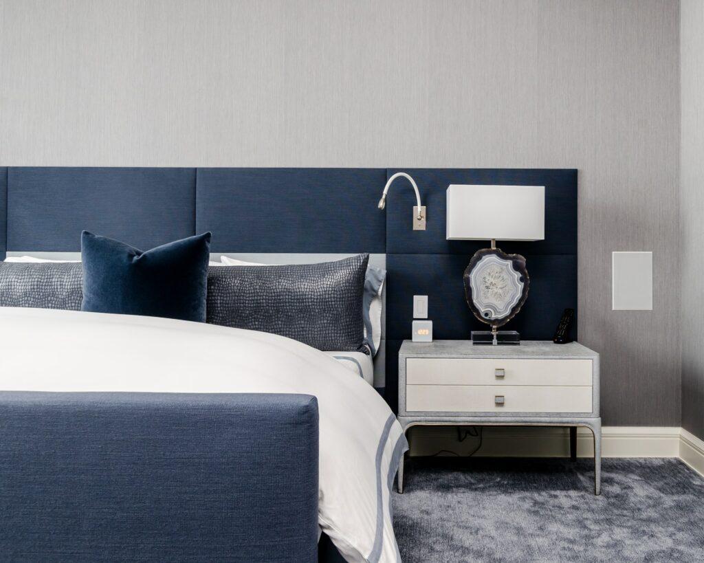 how to customize bedroom headboard