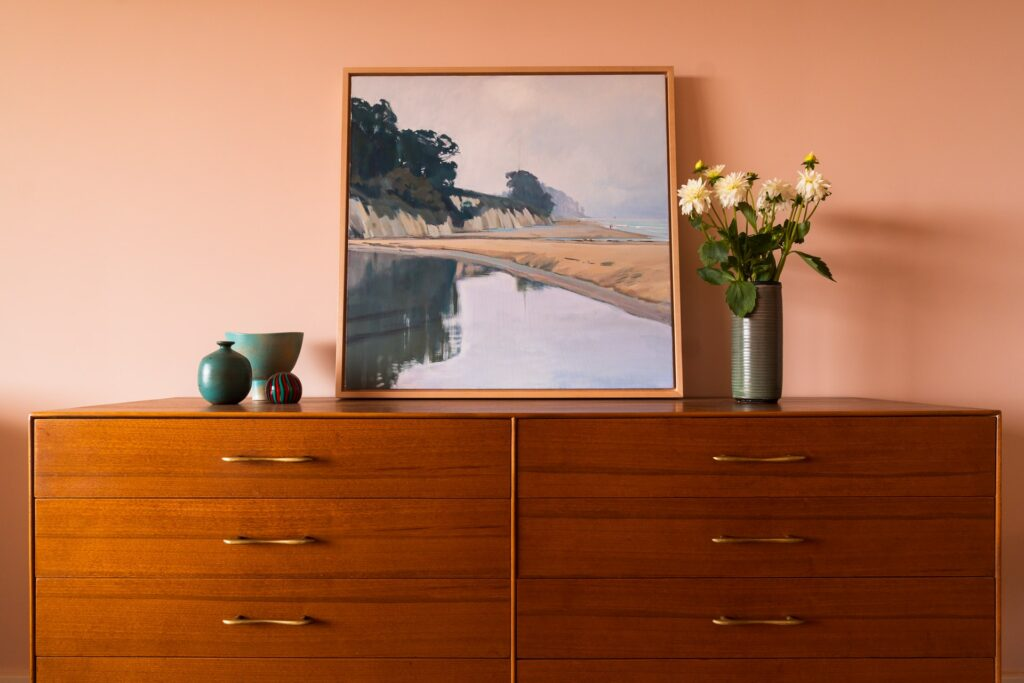 retro color home interior