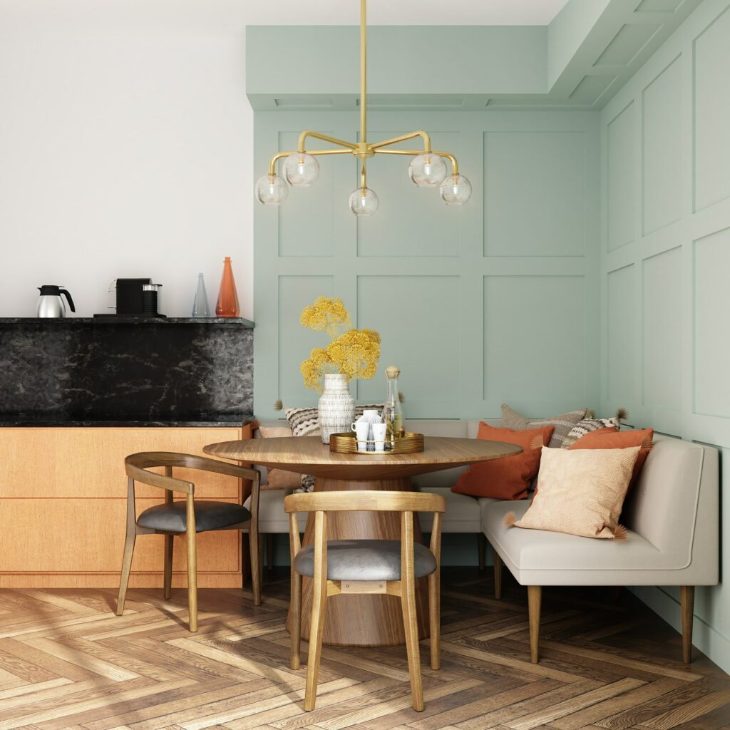 tips dining room color