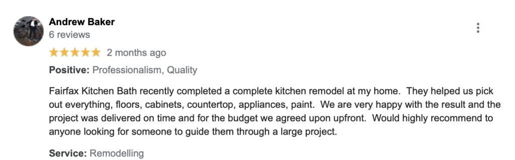 Fairfax Kitchen Bath top remodeling companies vienna md