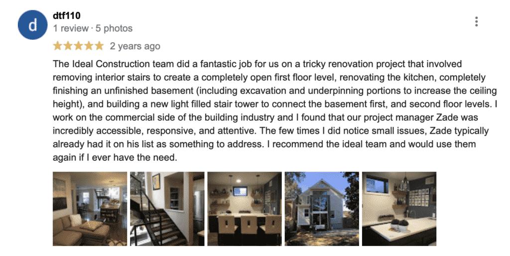 Ideal Construction & Remodeling reston va