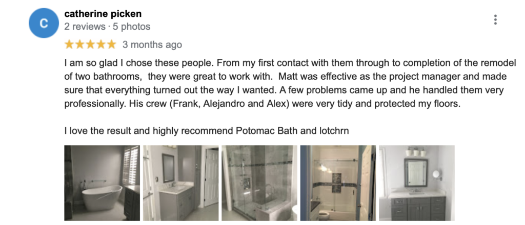 Potomac Kitchen & Bath top remodeling companies vienna