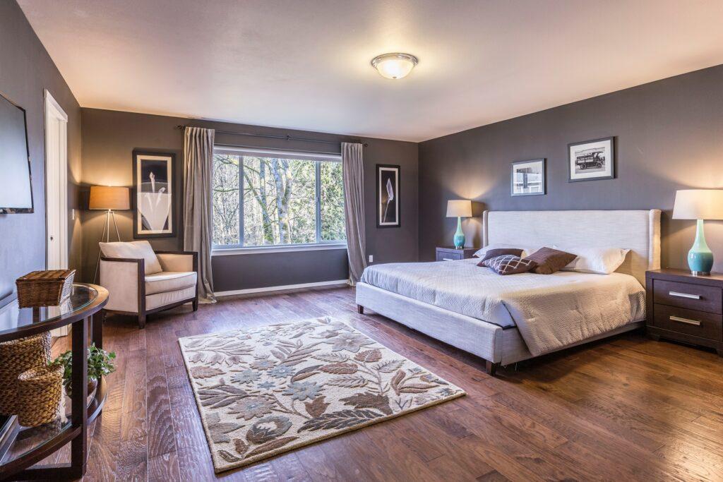 bedroom flooring $500 home makeover ideas