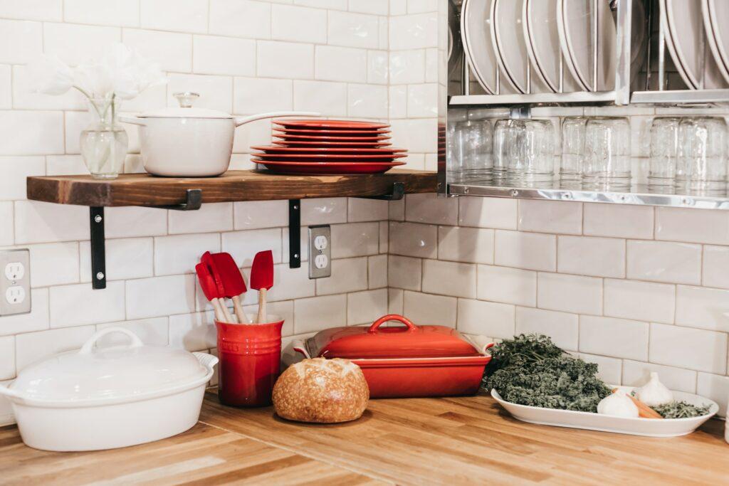 boho kitchen backsplash