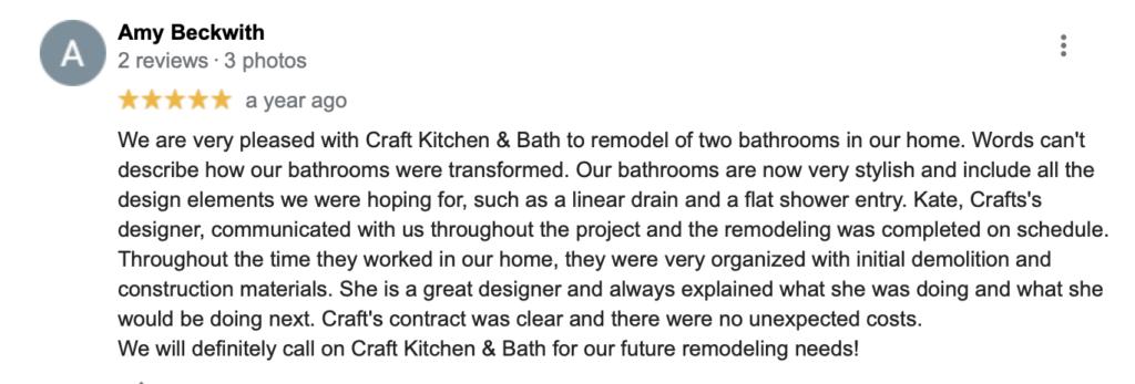 craft kitchen and bath Chantilly