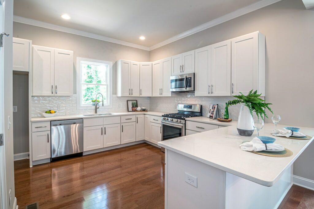 keep the same kitchen layout