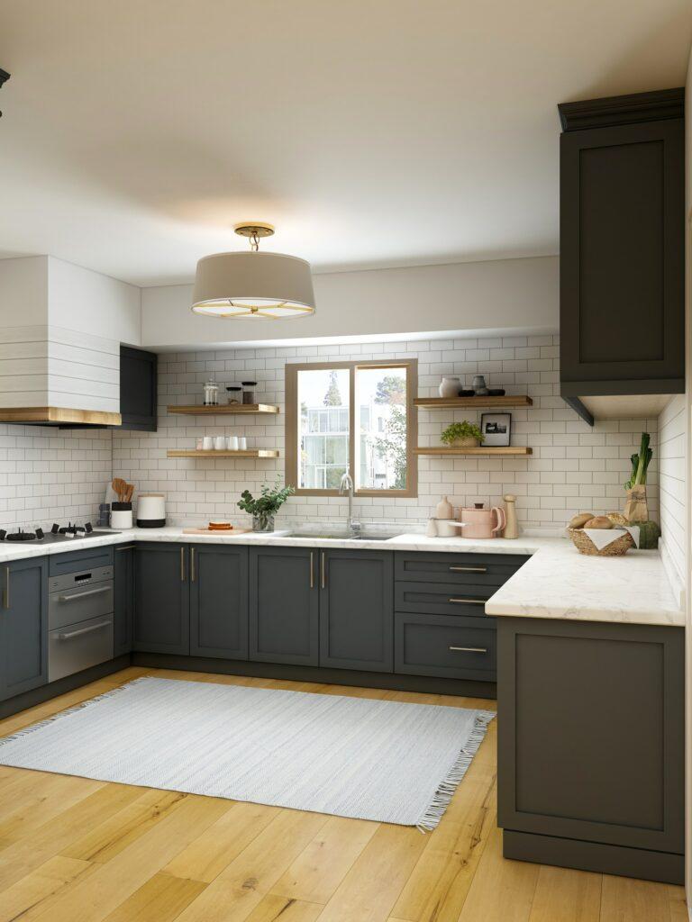 kitchen hardwood flooring types