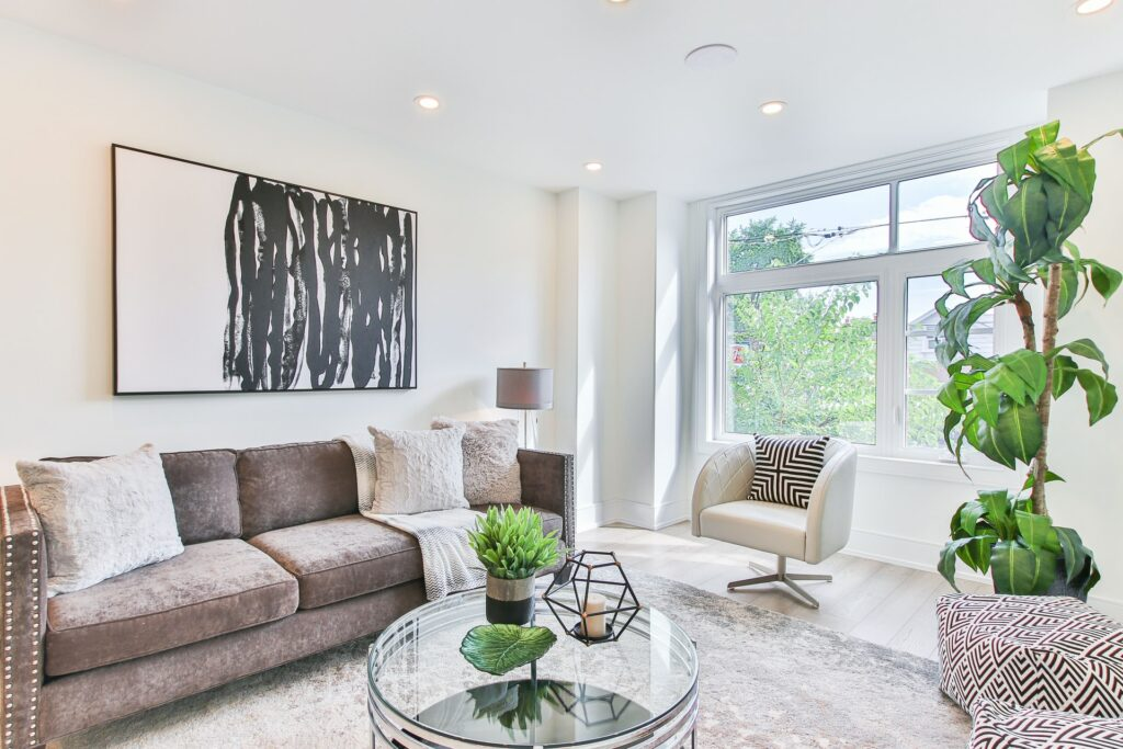 living room sofa layout
