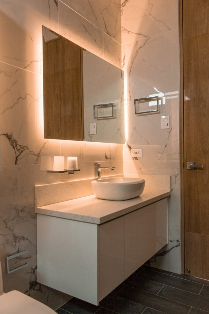refinish bathroom fixtures