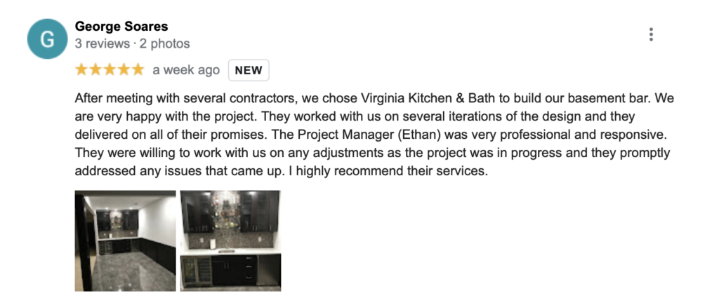virginia kitchen and bath top remodeling companies reston