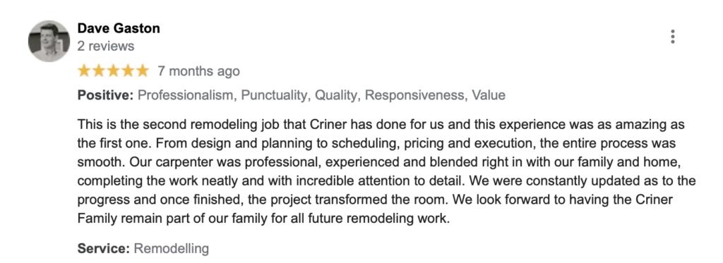 criner remodeling newport news va